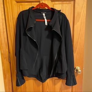 LULULEMON ASYMMETRICAL DOUBLE ZIPPER JACKET